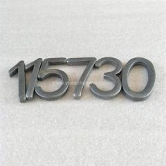Letters Numbers:Metal Letters and Numbers for the Nameplate of Products or Equipment