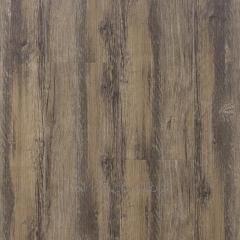 Synthetic wood plastic plank flooring