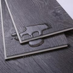 Decorative white oak design spc click vinyl flooring