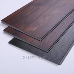 VOC free wood plastic synthetic floor tiles