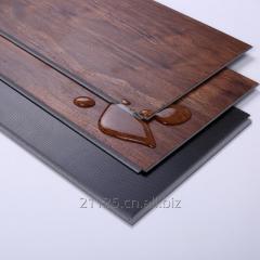 Wpc luxury plastic wood compound tile flooring