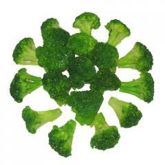 单冻绿花菜