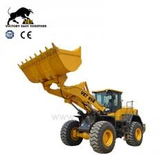 Wheel loader 958 with Cummins engine and ZF 200 gearbox