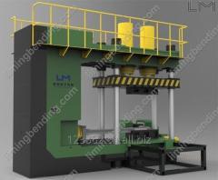 Φ273 Hydraulic Elbow Forming Machine