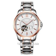 Stainless Steel Mechanical Men Watch with Tourbillon