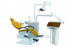 New design Dental Chair with folded leg rest, touched control system with 9 memorize