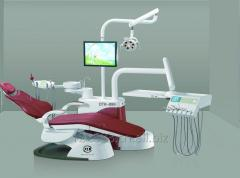 Dental chair with Danish 'linak' electric motor, water tubes and suction tubes are from USA