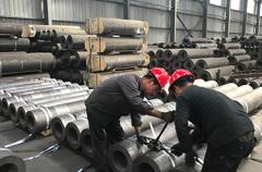 550-800mm RP graphite electrode