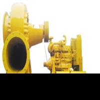 Big capacity flood control dewatering pump