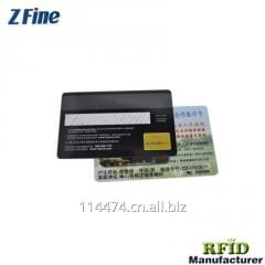 PVC blank rfid chip credit IC/ID Magnetic business Gift card Shenzhen china