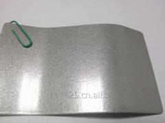 Metallic silver color powder coating