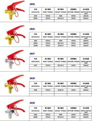 Spare parts for fire extingueshers