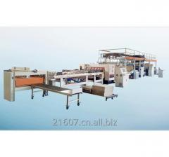 Single Facer Corrugated Cardboard Production Line