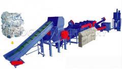 Waste Plastic PP PE Film Recycling Machine / PE Film Washing Line