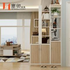All Aluminum Entrance Decorative Shoes Storage Cabinet