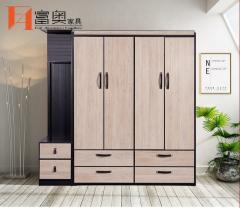 Full Aluminum Bedroom Furniture Combined Wardrobe