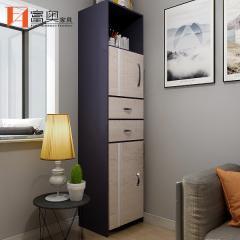 All Aluminium Living Room Furniture Corner Storage Cabinet