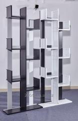 All Aluminum Living Room Furniture Decorative Display Storage Book Shelf