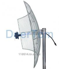1920-2170MHz 3G UMTS Grid Parabolic Antenna 21dBi High Gain Outdoor Directiona Point to Point Aerials