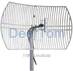 824-896MHz CDMA GSM Grid Parabolic Antenna 15dBi High Gain Base Station Antenna GSM Repeater Amplifier Booster Antenna