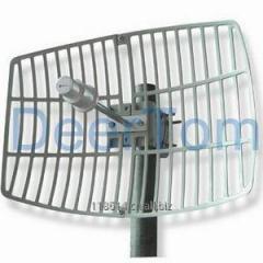 3400-3600MHz 3.5GHz 3500MHz Wimax Grid Parabolic Antenna 19dBi High Gain