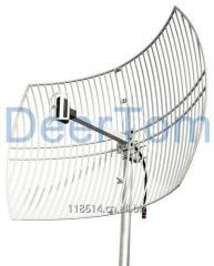2400-2500MHz WIFI Wlan Wireless Antenna Grid Parabolic Antenna 24dBi High Gain Base Station Point to Point Antenna 0.6*0.9meters