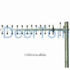 902-928MHz RFID Yagi Antenna 1100-1300MHz 1.2GHz 1200MHz Security Monitoring Antenna Yagi Antenna 14dBi