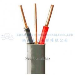 2+E Solid Copper Conductor PVC Insulated and Sheathed Flat Cables