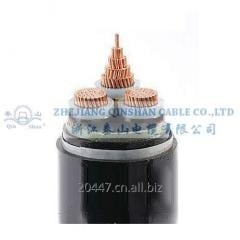 3 Core Copper Conductor XLPE Insulated Steel Tape Armoured PVC Sheathed Cable