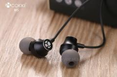 M5 Wired Headset earpiece Suppliers Metal Extra bass Stereo In-Ear Headphone For Mobile phone and Tablets