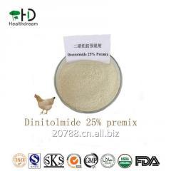 Dinitolmide Premix25% CAS148-01-6 Veterinary Medicine for Chicken