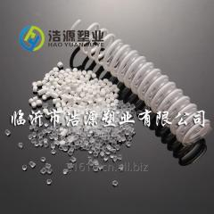 Migration resistance PVCD granules/particles/pallets for sprial hose