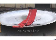Nickel alloy / Zirconium Crown dish head
