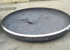 Carbon Steel Welded Pipe Elliptical Dished Seal Head Ends Cap for Pressure Vessel Caps