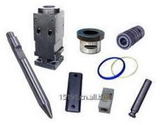 Soosan hydraulic breaker rock hammer parts cylinder front head back head chisel piston