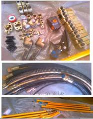 Excavator attachment hydraulic breaker hammer lines auxiliary installation piping kits pipelines