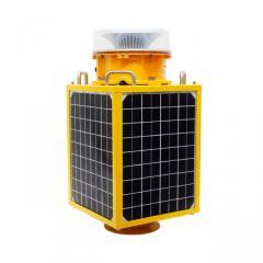 Solar-Powered Medium Intensity Aviation Obstruction Light