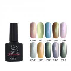 Haruyama OEM China factory wholesale nail Products soak off mermaid effect colorful uv/led gel polish