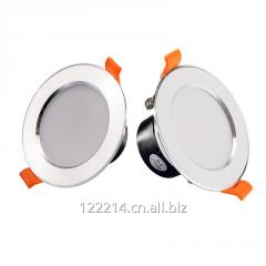 LED Downlight Aluminum White+Silver / Silver Case