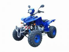 Motor cross-country vehicle