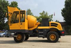 Self Loading Concrete Mixer HY-160