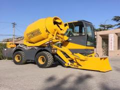 Self Loading Concrete Mixer HY-220