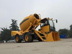 Self Loading Concrete Mixer HY-400