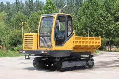 Steel Track Crawler Dump Carrier