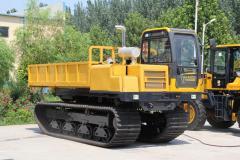 Rubber Track Crawler Dump Carrier