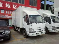 Isuzu elf van truck box truck