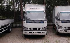 Isuzu ELF light duty cargo van truck