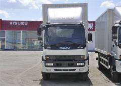 Isuzu FTR cargo van truck