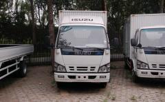 Isuzu 600P cargo van truck