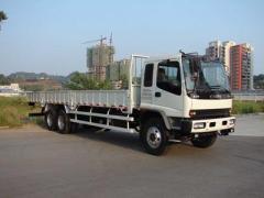 Isuzu 6x4 cargo truck heavy duty cargo lorry truck